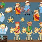 Christmas Nativity Clip-Art