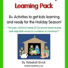 Christmas Nativity Learning Pack: 8+ Activities to get you