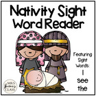 Christmas Nativity Sight Word Reader