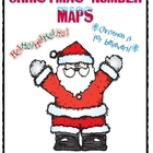 Christmas Number Maps