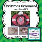Christmas Ornament Box and Card Kit