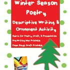 Christmas Ornament & Poetry Writing