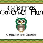 Christmas Owls Math Scavenger Hunt