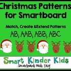 Christmas Patterns for the Smartboard