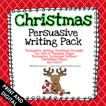 Christmas Persuasive Writing Pack