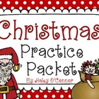 Christmas Practice Packet {No Prep}