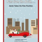 Christmas Puns:  Puns from the North--Santa Takes the Pole