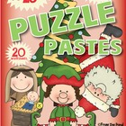 Christmas Puzzle Pastes - Worksheets for Numbers + Blends