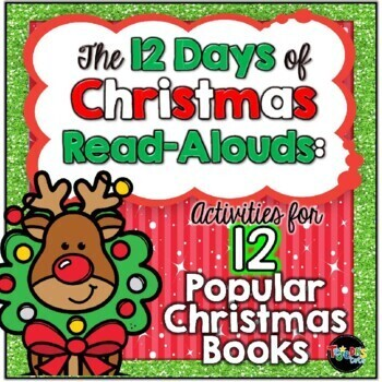 12 Days of Christmas Read-Alouds: Comprehension and Writing Activities