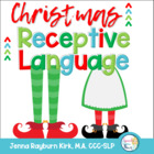 Christmas Receptive Language Packet: Speech &amp; Language Therapy