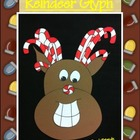 Christmas Reindeer Glyph