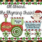 Christmas Rhyming Train!  Great Center, Game, Review &amp; Ass