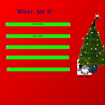 Christmas Riddles for the Smartboard