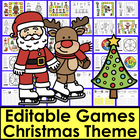 Christmas Sight Words Game Boards - First 102 Dolch - Lite