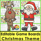 Christmas Sight Words Game Boards - Last 118 Dolch - Liter