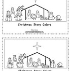 Christmas Story Colors-Kindergarten Emergent Reader