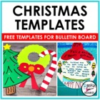 Christmas Templates for Bulletin Boards