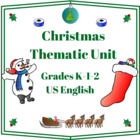 Christmas Thematic Unit (Primary) for Very Busy Teachers