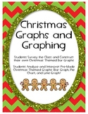 Christmas Themed Graphs- Construct Own and Interpret Pre-M