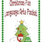 Christmas Themed Langague Arts Packet