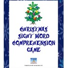 Christmas Themed Sight Word Phrase Fluency Game
