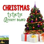 Christmas TicTacToe Choice Board