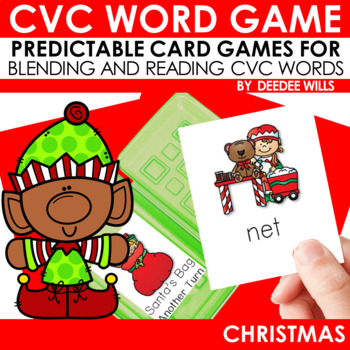 Christmas Time! A CVC Memory Match and Game