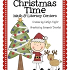 Christmas Time: Math and Literacy Centers