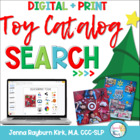 Christmas Toy Catalog Companion for Speech &amp; Language