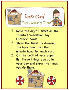 "Christmas Toy Factory...""Time!"""