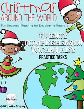 Christmas Traditions Around the World: Fluency, Comprehension & Vocabulary