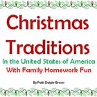 Christmas Traditions in the USA & Family Fun Homework!