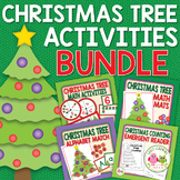 Christmas Tree Bundle:  Math and Literacy for Early Childh