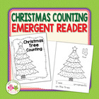 Christmas Tree Counting Emergent Reader Freebie