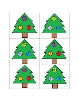 Christmas Tree Fact Families