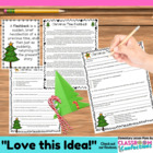 Christmas Tree Flashback {story structure and sequence of events}
