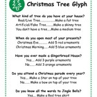 Christmas Tree Glyph Activity