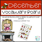 Christmas Vocabulary Board