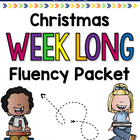 Christmas Weeklong Fluency Packet