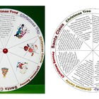 Christmas Wheel (Christmas facts, reading, pair work, fun