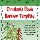 Christmas &amp; Winter Book Review Activity - FREE