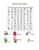Christmas Word Search - EASY