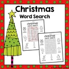 Christmas Word Search {FREE}