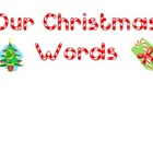 Christmas Word Wall Words
