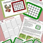 Christmas Word Wobble Game (word search, spelling, PowerPo