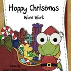 Christmas Word Work - Hoppy Christmas! - Learning Center A