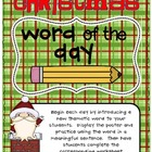 Christmas Word of the Day