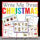 Christmas Write Me Three