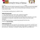 Christmas Writing Activity - Teaching Packet (characteriza