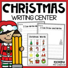 Christmas Writing Center Mini-Packet